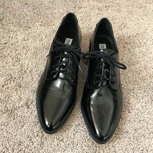 Black Steve Madden mens wear inspired shoes